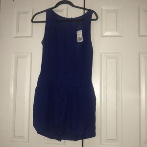 Forever 21 royal blue romper with pockets
